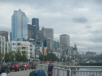 Seattle from the Wharf