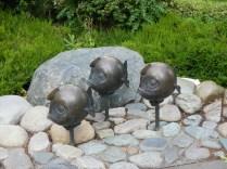 Bronze Statue - Fish