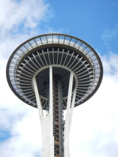 Space Needle Top Close-Up