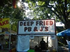 OMG Fried PB&J!