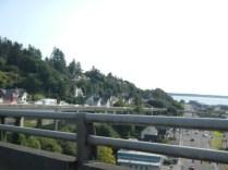Crossing into Oregon