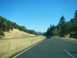 Driving through Wine Country