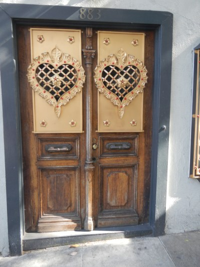 Cool Heart Door
