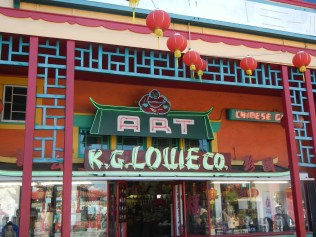 Art Shop in Chinatown LA