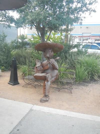 Outside of La Gloria Old Pearl Brewery San Antonio TX