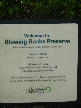 Nature Conservancy Blowing Rocks Jupiter Florida