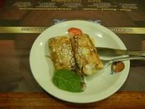 Dulce de leche Crepes Review The Knife Restaurant Miami