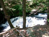 Pennell Falls Bushkill Pennsylvania Poconos