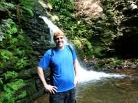 Kenin at Bridal Veil Falls Bushkill Falls