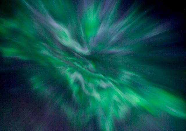 Aurora Borealis in Full Effect
