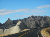 Drive through the Badlands