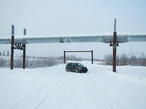 The Alaskan Pipeline and GTI at the Yukon River
