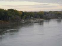 Crossing a river in Nebraska
