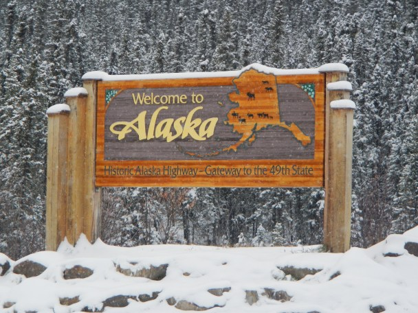 Welcome to Alaska Sign