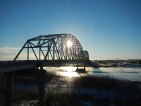 Bridge over the Tanana River