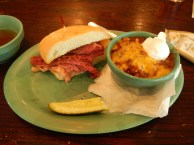 Hot Corned Beef and Chili