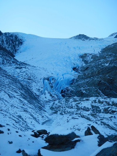 Worthington Glacier Along Richardson Highway Near Thompsons Pass