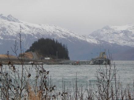 End of the Trans-Alaska Pipeline Valdez Alaska