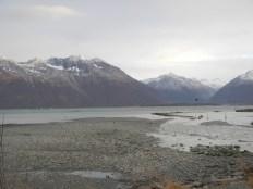 Mountains surrounding Valdez AK