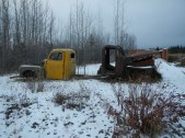 Some of the Abandoned Vehicles at Johnsons Crossing