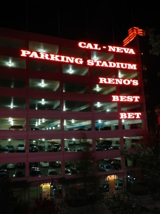 Cal-Neva Parking Stadium Reno, NV
