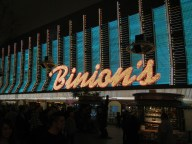 Binion's on Freemont Street Las Vegas NV