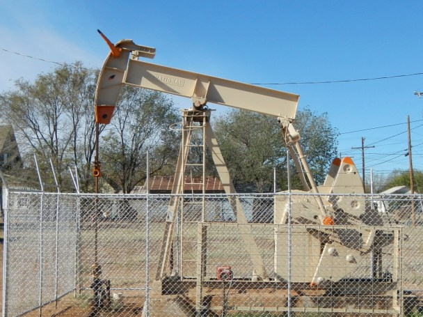 Oil Pumping Jack in Texas