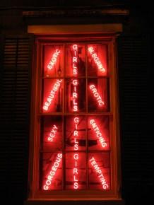 Sign on Bourbon Street NOLA