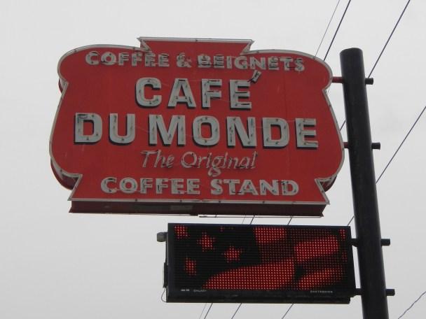 Enjoy Cafe Du Monde in New Orleans LA