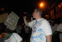 Drinking Cask Wine - J'Ouvert Carnival in Trinidad