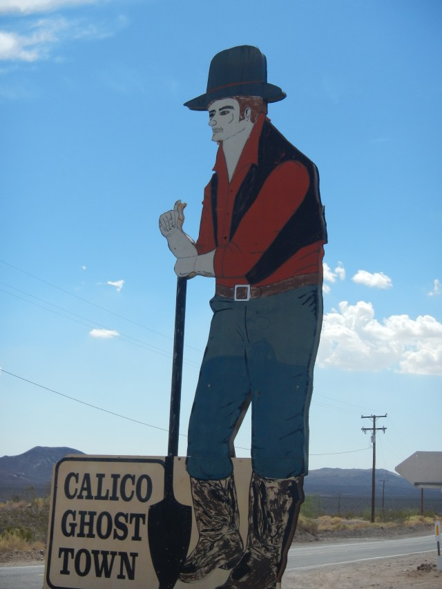 Calico Ghost Town Cowboy