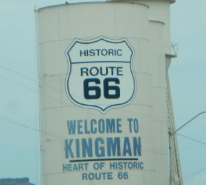 Route 66 Sign Kingman AZ