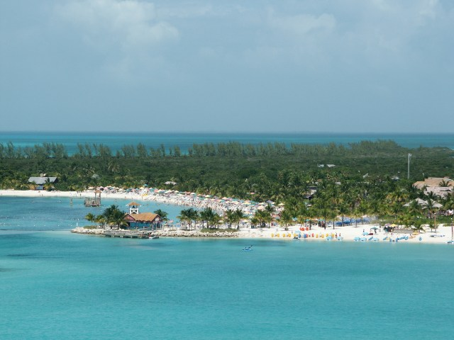 The Bahamas from a cruise ship