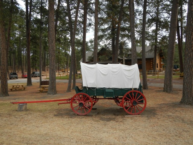 Covered Wagon in South Dakota