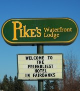 Pikes Waterfront Lodge Fairbanks Alaska Review