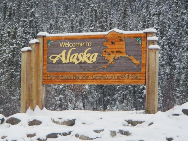 Welcome to Alaska Sign