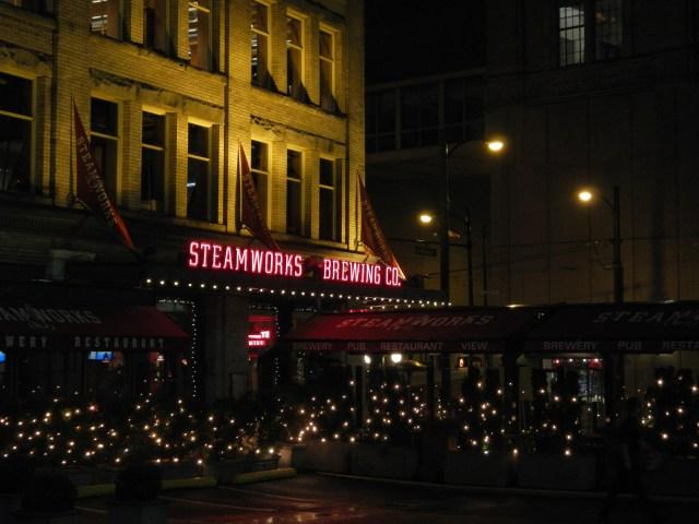 Steamworks Brew Pub - Hipster Free :-)