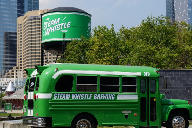 Steam Whistle Outside