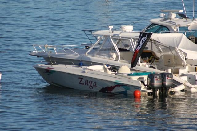 Zaga - our Trini speedboat