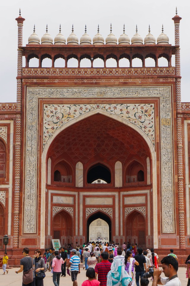 Taj Majal North Gate Front