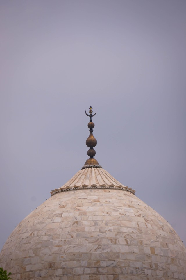 TajMajal Main Dome Detail