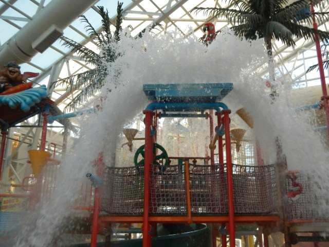 Wet Water park fun