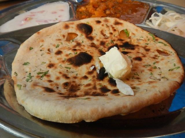 Classic Indian Street Food - Tandoori Aloo Nan