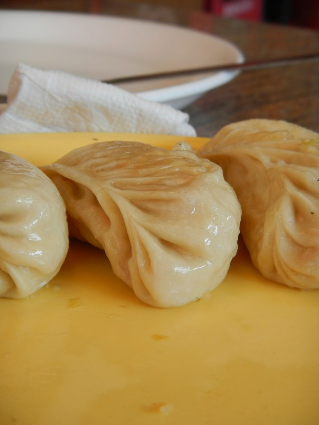 Momos on Indian Streets