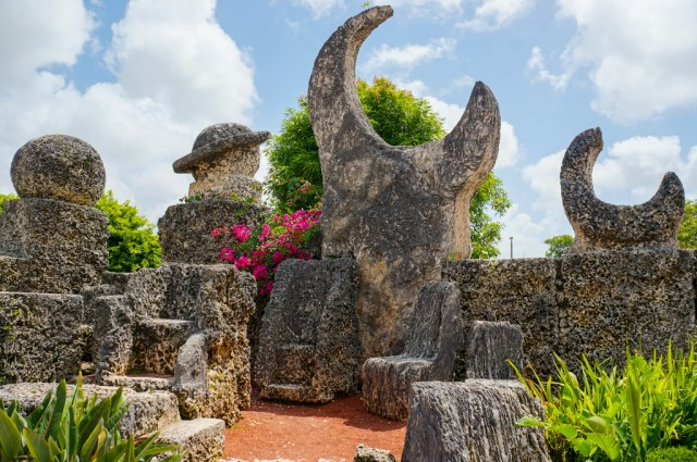 The Solar Sculpture at Coral Castle in Homestead FL