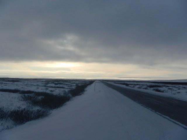 Road to Deadhorse Alaska
