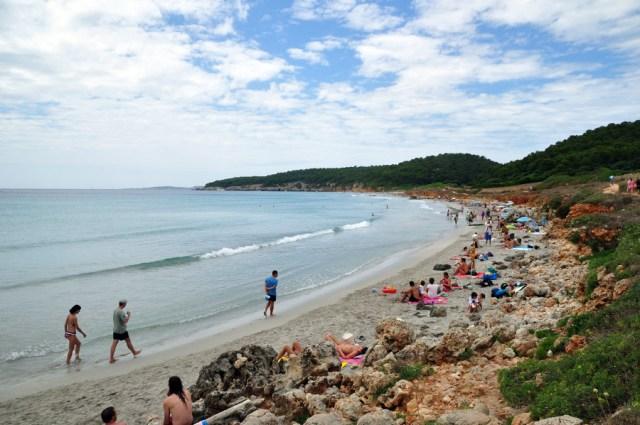 playa-binigaus menorca