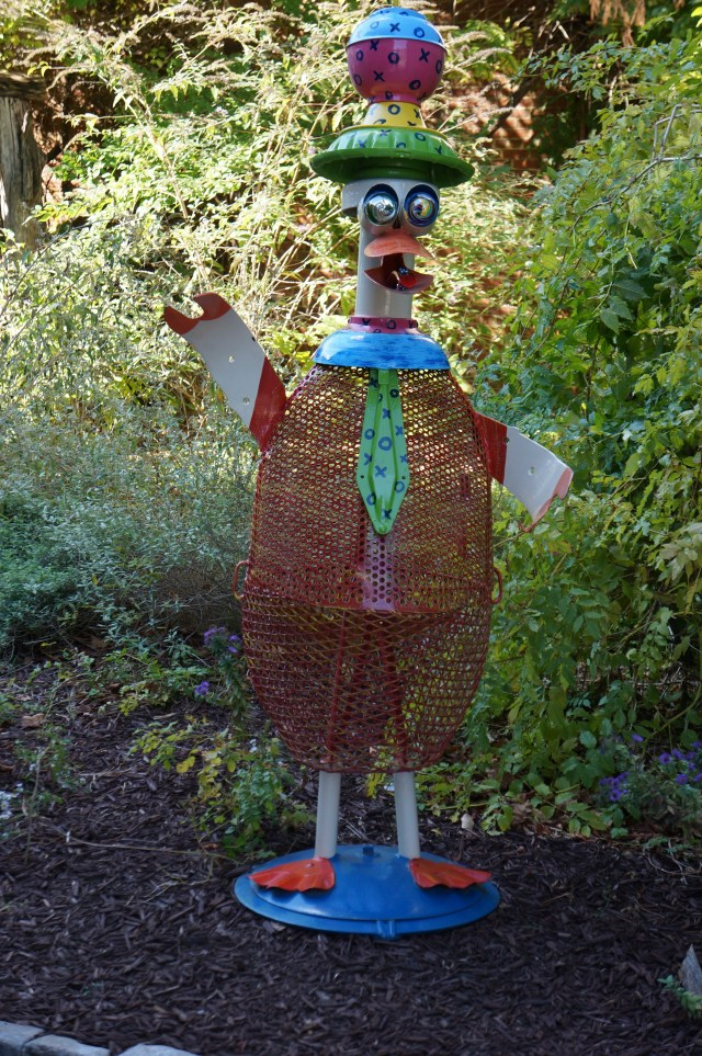 Duck in the yard - American Visionary Art Museum