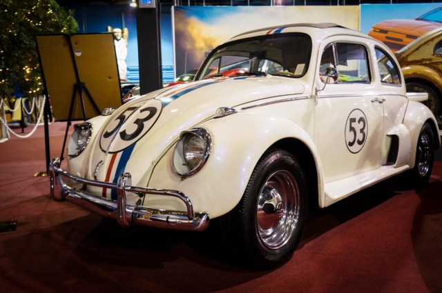 Herbie the Love bug at the Miami Auto Museum
