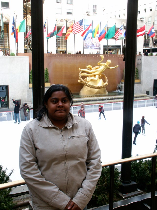 #Chillin' in Rockefeller Center NYC